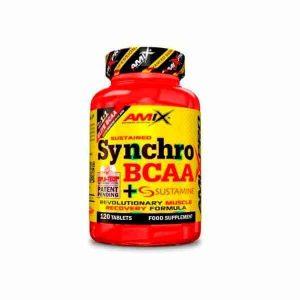 Synchro BCAA + Sustamine 120 tabletas de amix