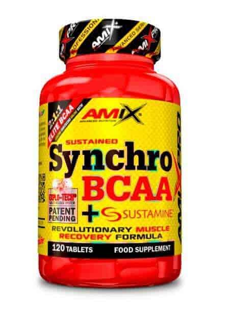 Synchro BCAA + Sustamine tablets