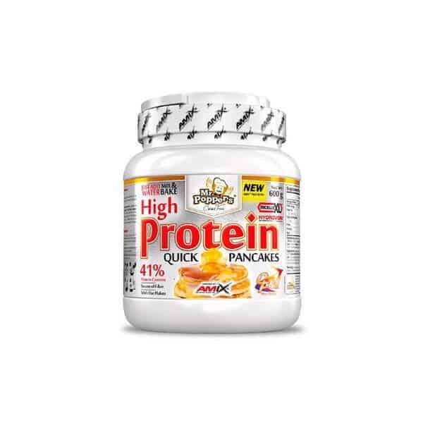 High Protein Pancakes Amix Mr Poppers son tortitas con más proteínas