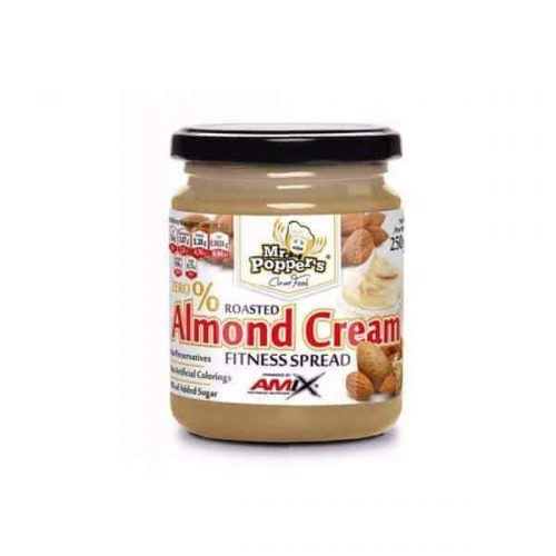 Almond Cream de Amix Mr Popper's es una deliciosa crema de almendras