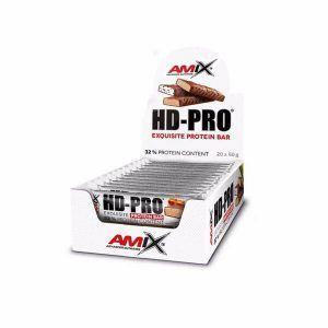 HD-PRO protein bar de exquisista calidad de Amix Nutrition con barritas de proteínas