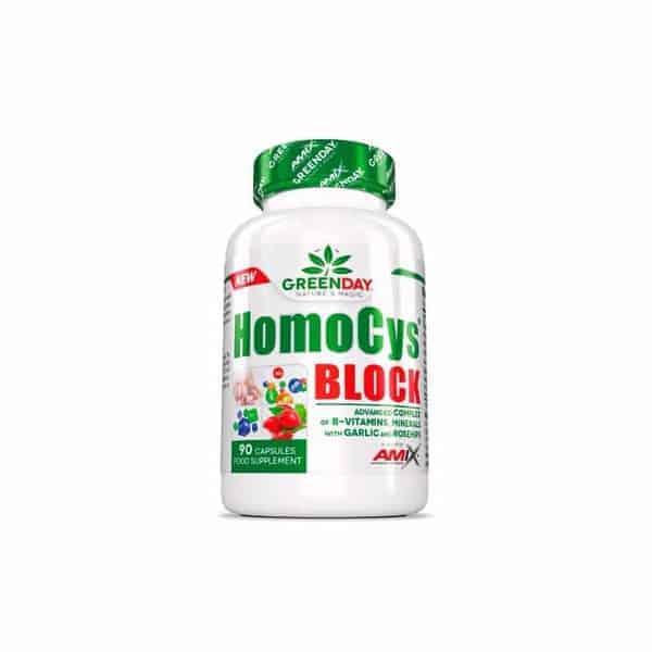 homocys-block de amix Greenday es un complejo de vitaminas y minerales