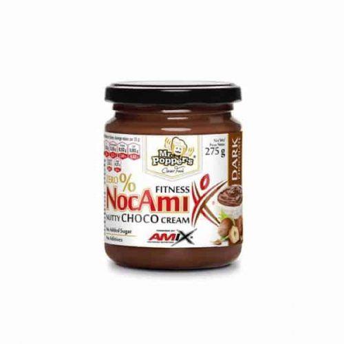 NocAmix dark chocolate es la nocilla fitness para todas personas que quieren cuidarse y controlar los dulces.
