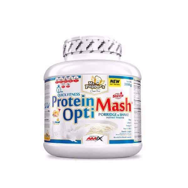 Protein Optimash de Amix Mr Poppers para elaborar cremas con todo macronutrientes necesarios.