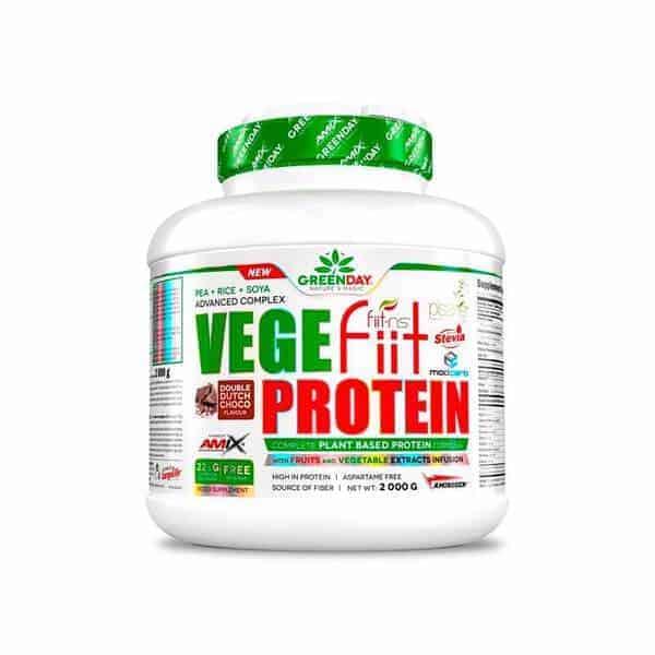 vegefiit protein 2 kg de amix greenday