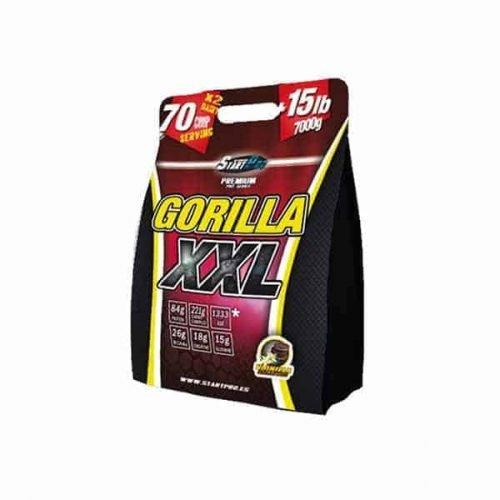 Gorilla XXL de Startpo es un aumentador de peso y volumen muscular