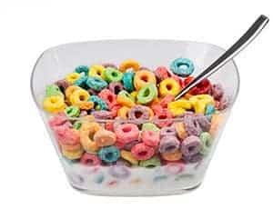 Cereales alimentos saludables