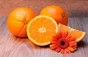 Naranjas alimentos saludables