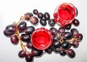 Vino es un alimento saludable