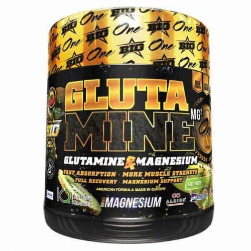 Big glutamina 450 gr.