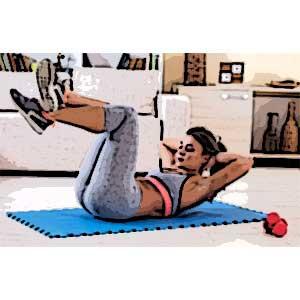 ejercicios para adelgazar barriga en casa