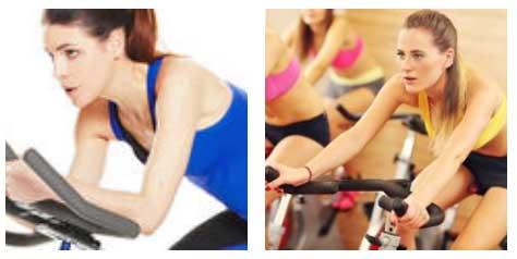 bicicleta para adelgazar barriga