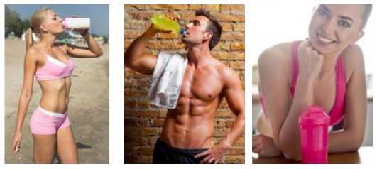 como tomar proteina y creatina