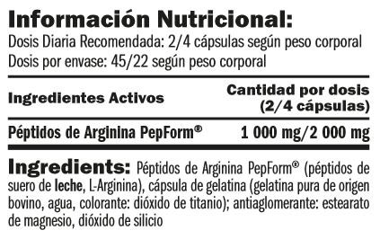 arginine-pepform-peptides-90-caps-informacion-nutricional
