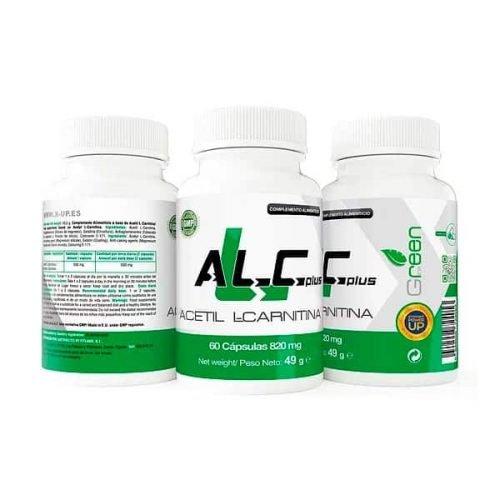 ALC-Acetil-L-Carnitina-60-Caps-X-UP-Green