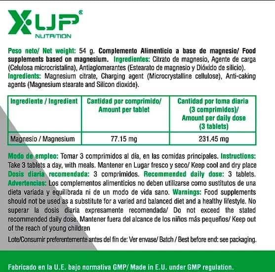 Magnesio-Citrato-60-caps-X-UP-Green-informacion-nutricional