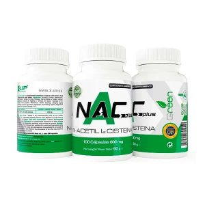 NAC-N-Acetil-L-Cisteina-100-caps-600-mg-X-Up-Green