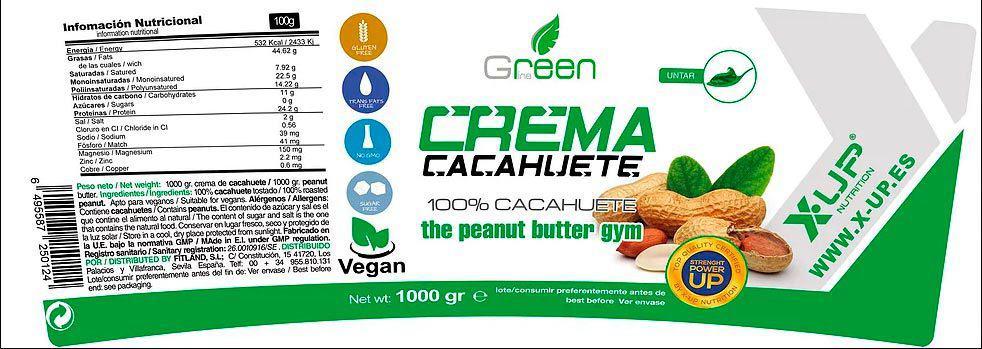 Crema-de-Cacahuete-1000-gr-X-UP-Green-informacion-nutricional