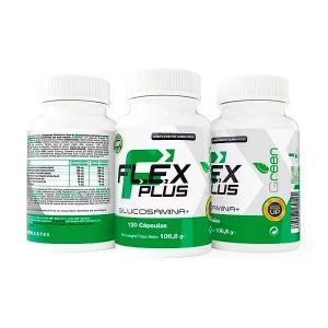 Flex-Plus-Glucosamina-120-Caps-X-UP-Green