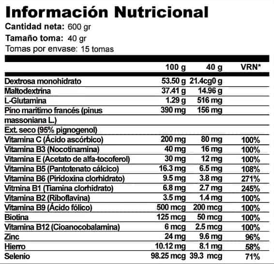 ISO-X-Isotonico-600-gr-X-UP-Endurance-informacion-nutricional
