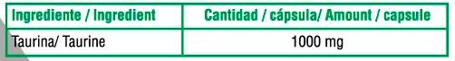 Taurina-90-Caps-X-UP-Green-informacion-nutricional