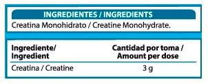 Creatine-Monohydrate-500-gr-X-UP-Premium-informacion-nutricional