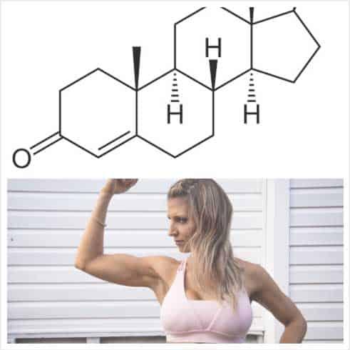 testosterona mujer