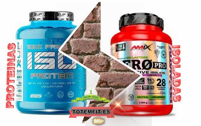 proteinas isoladas