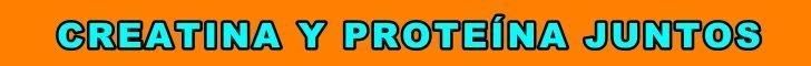creatina whey protein