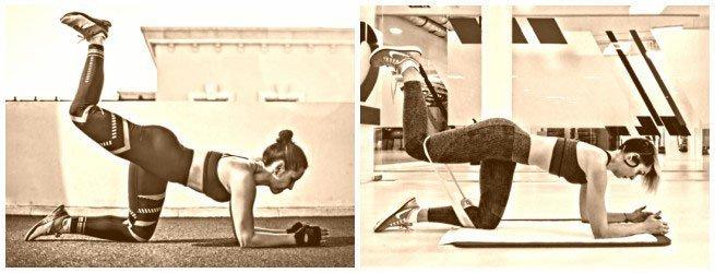 ejercicios para aumentar gluteos y bajar abdomen