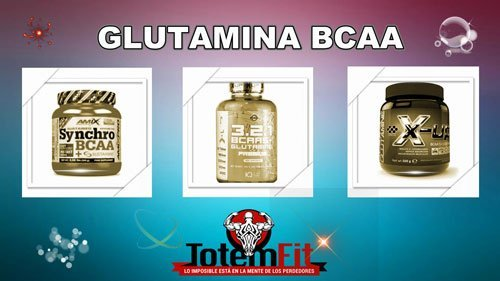 glutamina bcaa