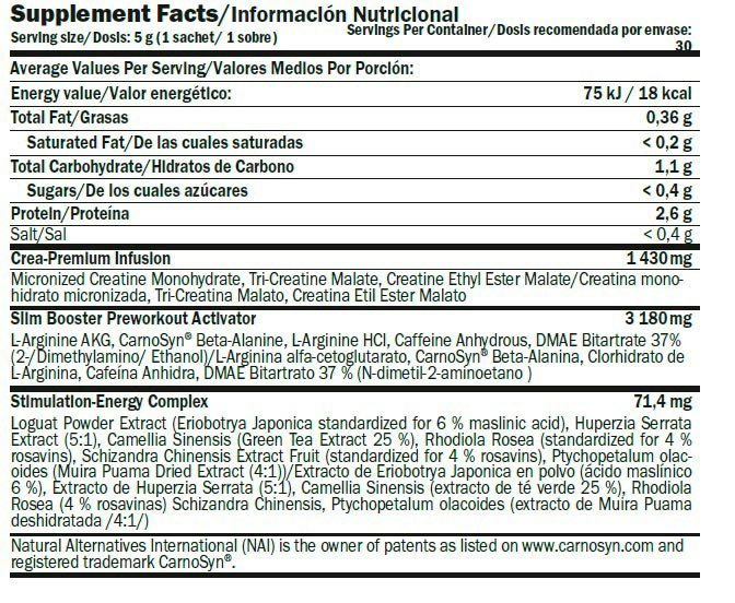 ficha-slim-booster-prewokout-amix-nutrition
