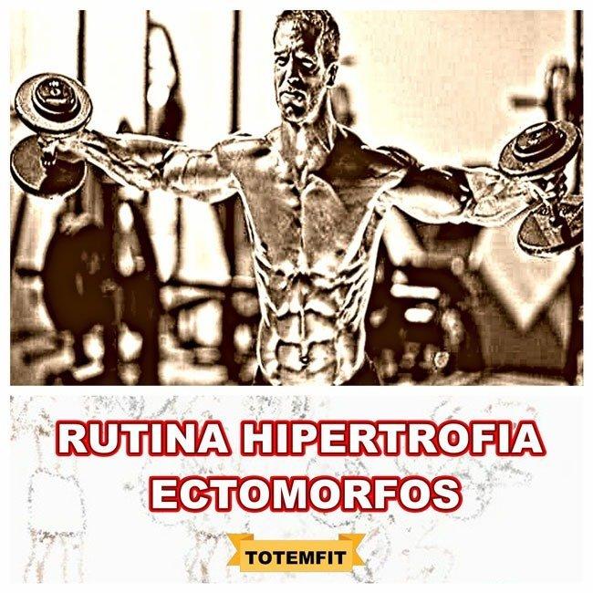 rutina hipertrofia ectomorfo