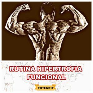 rutina hipertrofia funcional