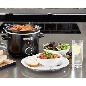 CrockPot Olla Manual Negra 2.4L