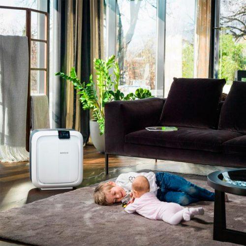 humidificador purificador hibrido boneco h680 en casa