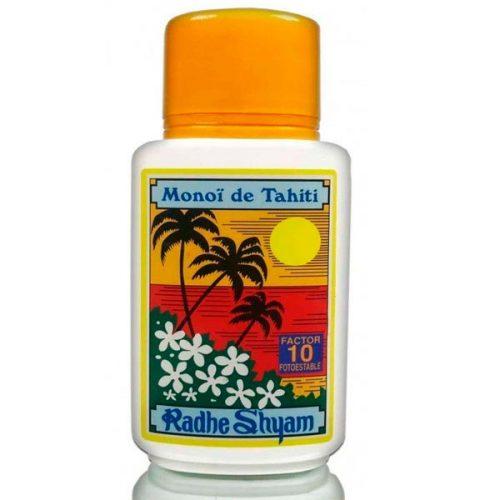 Aceite bronceador monoi de tahiti