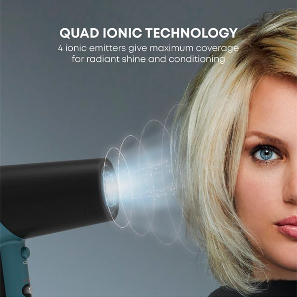 Secador Iónico REVAMP Progloss 3800 Quad Ionic
