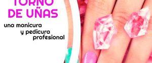 Torno-de-uñas para manicura y pedicura