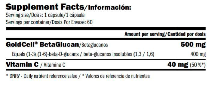 beta-glucan-400-mg-amix-greenday-informacion-nutricional