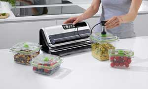 maquina de vacío para alimentos