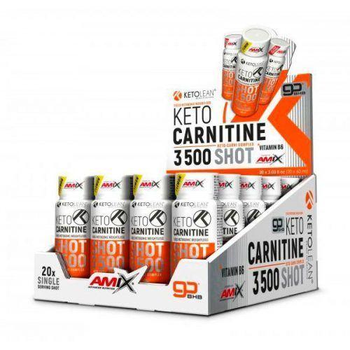 keto carnitine shot 3500 20 x 60 ml amix ketolean